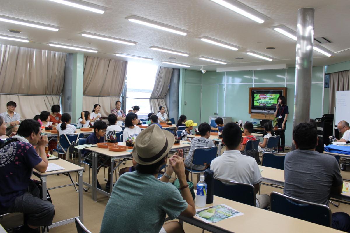 食虫植物観察教室1