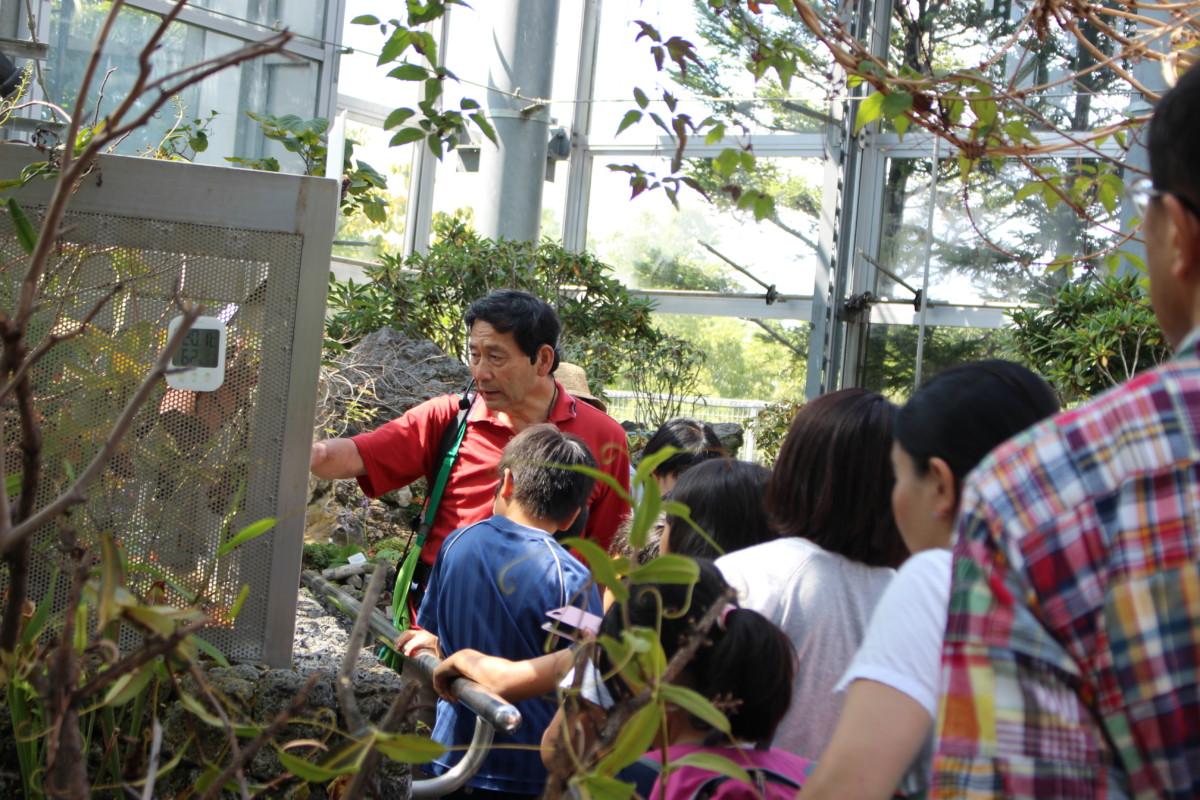 食虫植物観察教室6