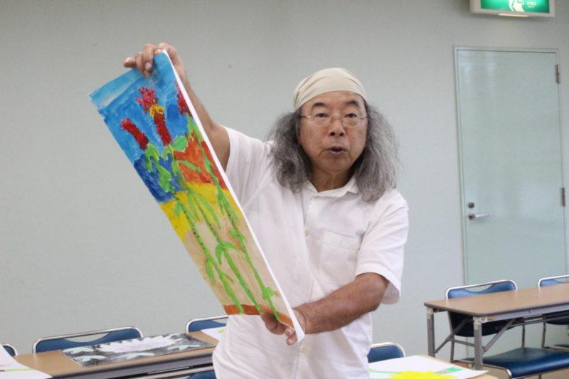 スケッチコンクール審査風景2