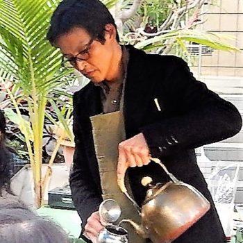 カカオとコーヒー展 チョコレート 甘いもの カカオ豆 テイスティング